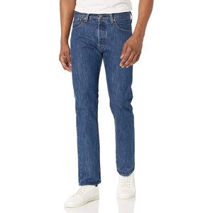 Levi's 501 Straight Legged Button Fly Jeans